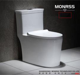 坐便器,蒙諾雷斯6822陶瓷馬桶,連體座便器
