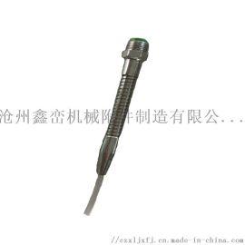 内螺纹金属冷却管,外螺纹金属喷油管,机床吹气蛇形管
