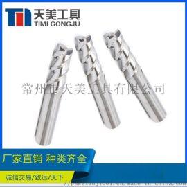 钨钢三刃铝用铣刀CNC数控直柄铝用铣刀接受非标定制