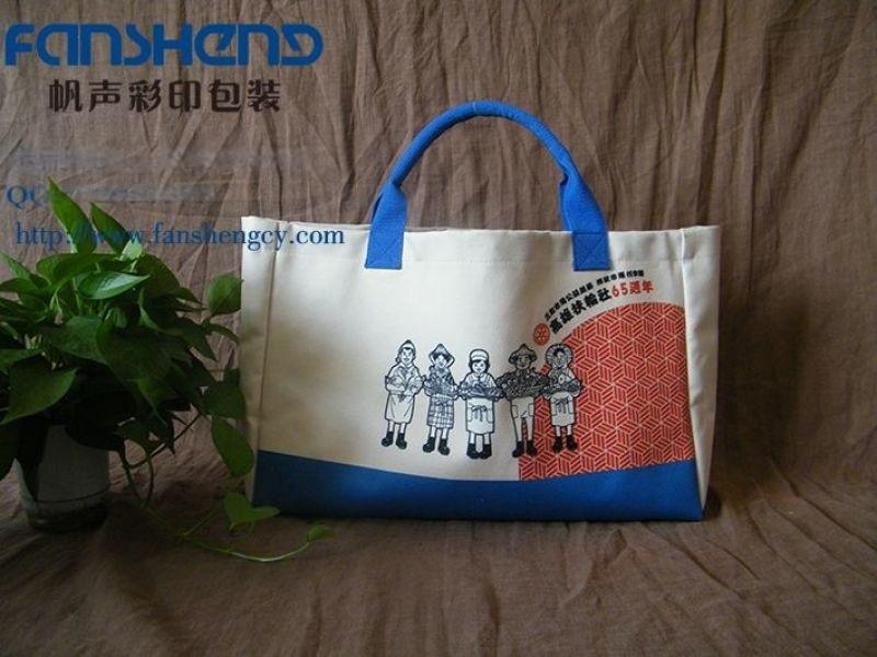 郑州帆布手提袋定做,企业的广告宣传袋