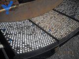 氧化铝耐磨陶瓷橡胶复合板陶瓷橡胶钢板复合板