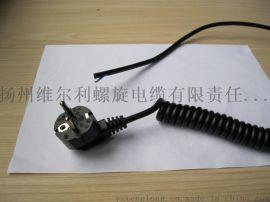 VOLI螺旋电缆RVUT3*0.75弹簧线