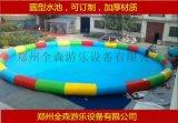 吉林長春室外充氣游泳池/加厚充氣水池訂製