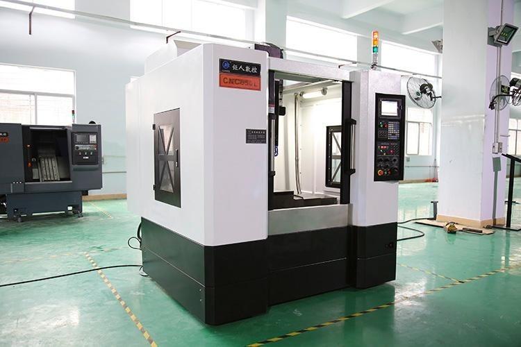 钜人数控CNC650L三线轨小型加工中心,V6电脑锣