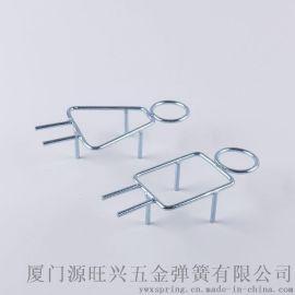 弹簧钢表面镀锌 烤漆焊接男女更衣室线性艺性指示牌