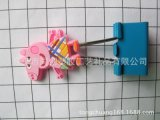 学生文具铁夹支票夹大号彩色小猪配奇教学用品长尾夹