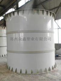 河南许昌PP板塑料罐化工罐盐酸罐生产厂家