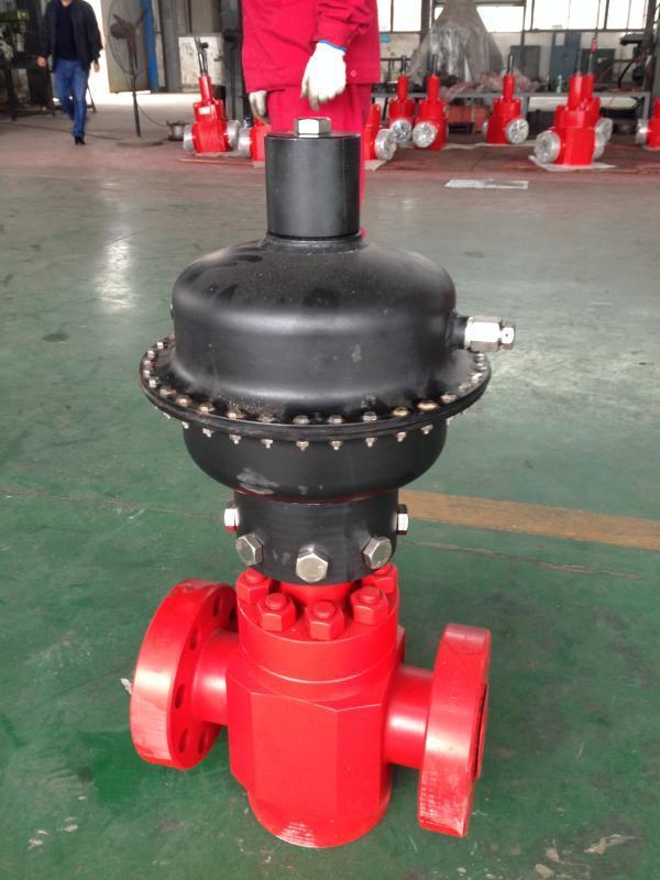 德阳正光石油机械PDV气动膜片式安全阀