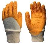 絨(毛)布天然乳膠類手套