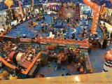巧可粒北京動漫IP主題樂園嘉年華室內EPP積木城堡