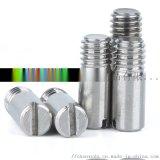 304不鏽鋼GB878一字槽螺栓螺釘