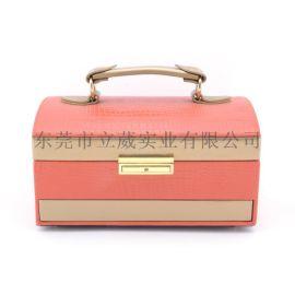 東莞皮盒工廠定做包裝盒皮盒首飾盒