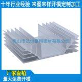 散热铝合金加工,铝制散热片定做,电子散热片铝材价格