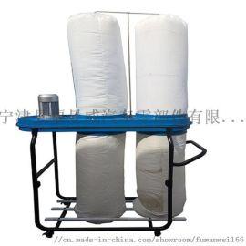 福曼威FW-9015木工吸尘器双桶移动工业集尘器