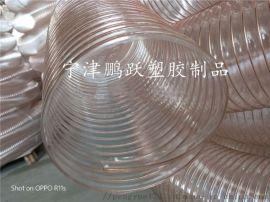 pu聚氨酯镀铜钢丝伸缩风管