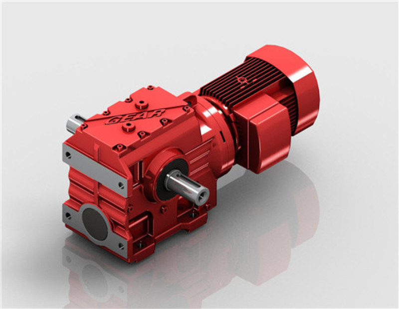 S斜齿轮蜗轮减速机(迈传)蜗轮齿轮减速机厂家直销