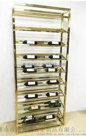 别墅酒窖酒柜设计|高端不锈钢酒柜