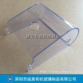 PVC机器保护罩 PVC折弯设备防尘罩 机械面盖