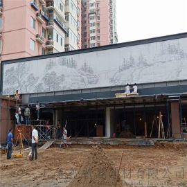 浙江省门头装饰镂空冲孔艺术铝单板