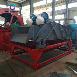 定制大型细沙回收设备 高频直线振动脱水筛厂家