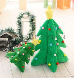 厂家定制中高端创意毛绒圣诞树礼品玩具抖音同款