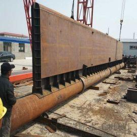 远程控制液压坝厂家 30m×2.5m液压坝价钱