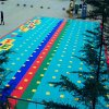 铜陵市弹性软垫 悬浮地板安徽拼装地板厂家