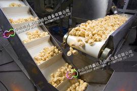 佛山罐头输送线,大沥冷冻食品流水线,汤圆速冻流水线