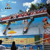 景區大型遊樂設備搖滾排排坐商丘童星廠家