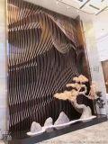 大型酒店不锈钢装饰屏风生产工厂