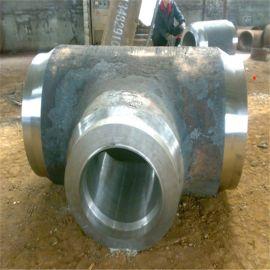 河北大型碳钢三通厂加工定制45度斜三通鑫涌牌