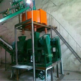 炭黑对辊造粒机 时产1.5吨 铵造粒机 盘式造粒机