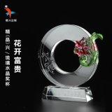 琉璃紀念獎牌 公司開業活動水晶展示紀念牌