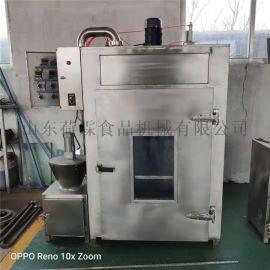 商用腊肉烟熏炉 豆干蒸煮上色一体机 数控烟熏炉