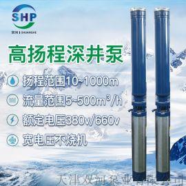 高扬程深井泵-高扬程井用潜水泵-多级深井泵