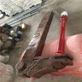 玻璃钢校园文化雕塑、玻璃钢毛笔雕塑定制