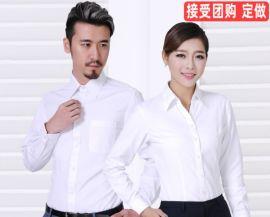 男衬衫长袖时尚休闲韩版工作服男装定制上衣厂家批发衬衣