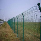 道路隔離網@綠色鐵絲防護網@合肥道路封閉網廠家