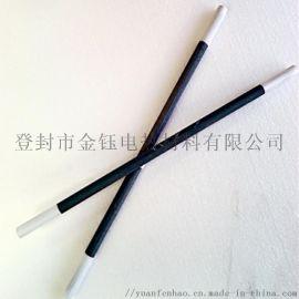 厂家直销等直径硅碳棒高温炉加热元件碳化硅管 可定做