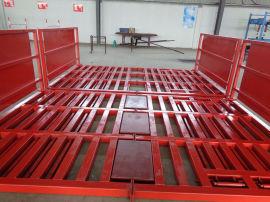 建筑工地洗车机 平板式工程洗车台