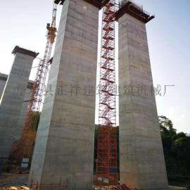 江西九江桥梁安全爬梯生产厂家75型香蕉式施工爬梯