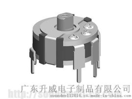 SOUNDWELL旋钮操作型旋转电位器RC1003