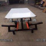 厂家直销连体餐桌椅 员工食堂餐桌椅