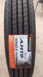 韩泰全钢卡客车轮胎10R22.5-14 AH19