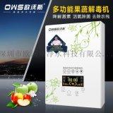 臭氧果蔬解毒机空气净化器家用活氧多功能洗菜机