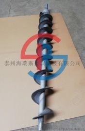 叠螺机绞龙喷涂碳化钨耐磨涂层