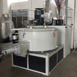 300/600立式塑料高速混合机组专业制造200/500高速混料机组