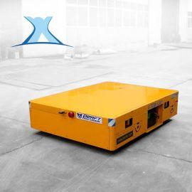 炼钢厂搬运钢卷电动平车转运钢管水泥板搬运车无轨胶轮车