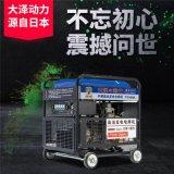 大泽动力190a柴油发电电焊一体机