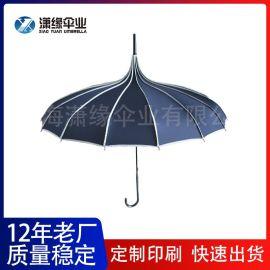 宝塔形礼品伞 广告伞宝塔雨伞 创意伞生产订制 雨伞厂